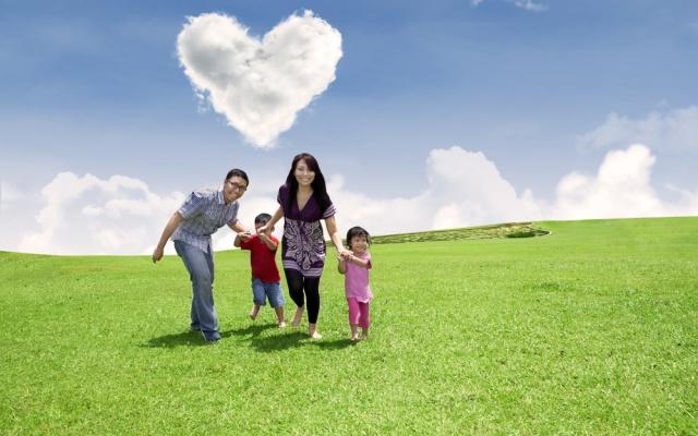 Asijská rodina