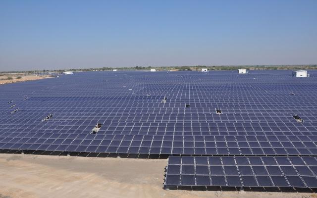 Solární elektrárna (ilustrační foto)
