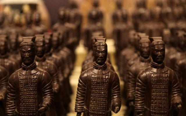 Čokoládová terakotová armáda