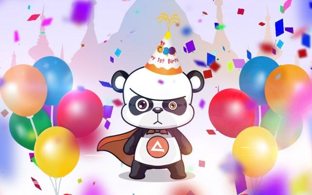 AsianStyle panda slaví první rok!