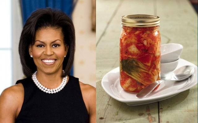 Michelle Obama má ráda kimči