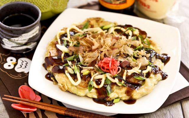 Okomiyaki v celé své kráse