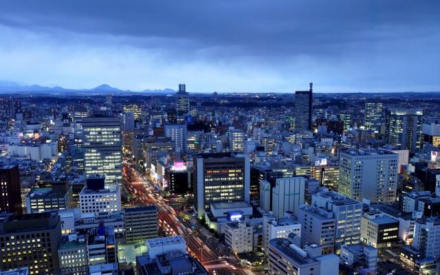 Večerní Sendai