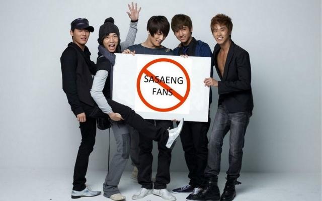 stop sasaeng fanouškům!