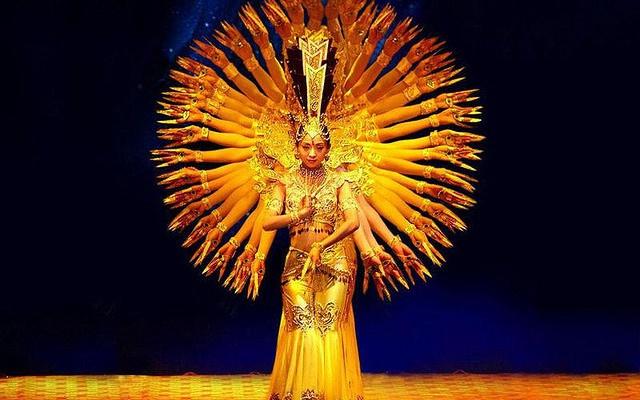 Taneční soubor tisíci-ruké Quan Yin