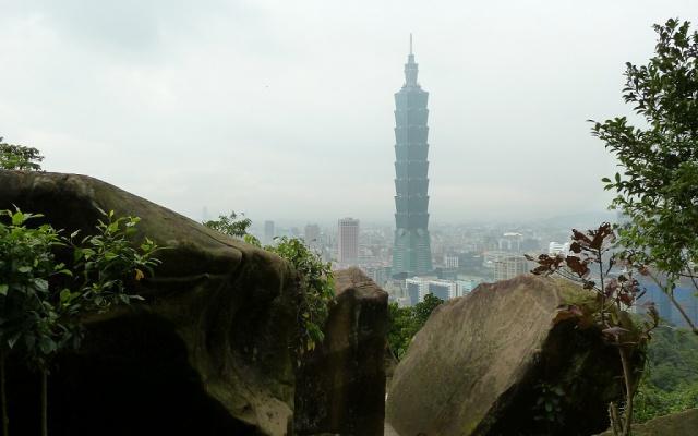 Výhled na Taipei