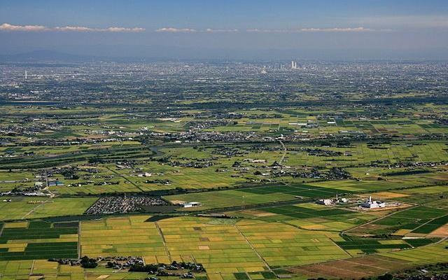 Rovina  Nobi, Kiso Sansen a Nagoya, Japonsko