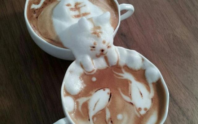 Kávové umění podle Kazukiho Yamamoty