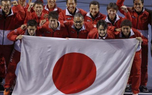Japonský daviscupový tým