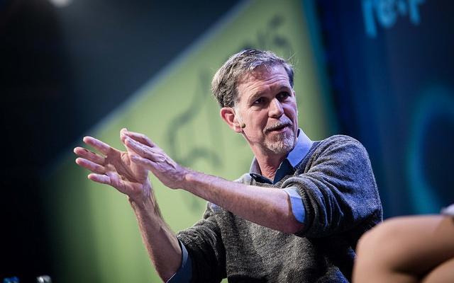 Zakladatel Netflix Reed Hastings