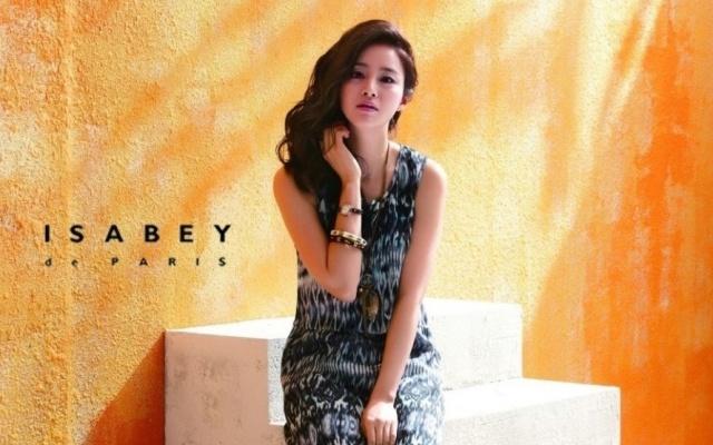 Kim Tae Hee pro Isabey