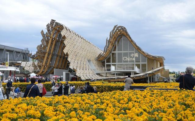 Čínský pavilon na EXPO 2015