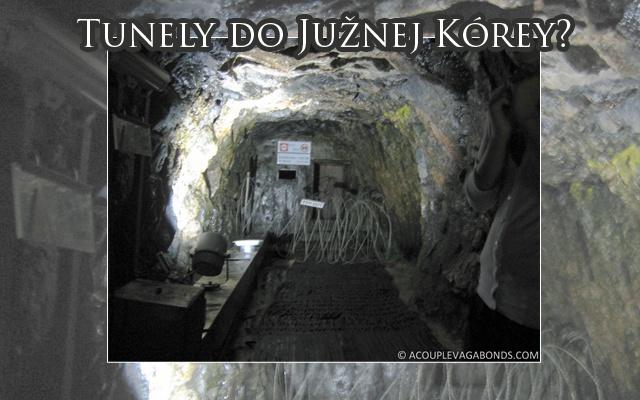 Jeden z tunelov, ktorý kopala Severná Kórea.