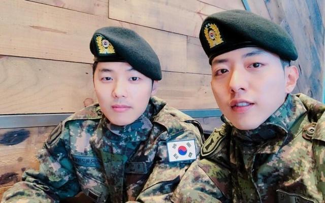 V armádě slouží i kpop idolové