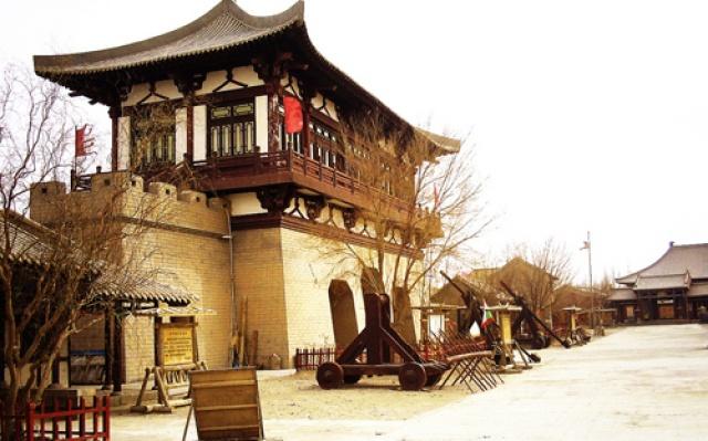 Starobylé město Dunhuang