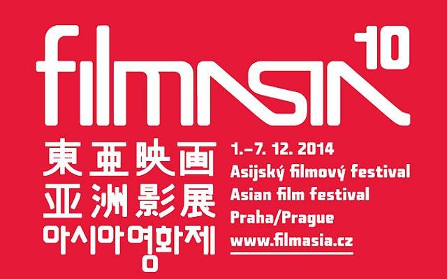 Plakát k 10. ročníku festivalu Filmasia