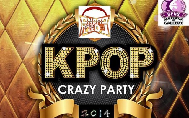 KPOP CRAZY PARTY DJ ONDRO leták