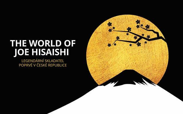 Plakát ke koncertu Joea Hisaishiho