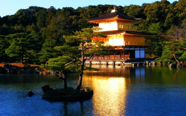 Chrám Kinkakudži