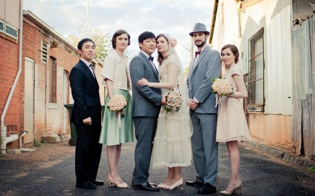 svatba Korejce a Australanky