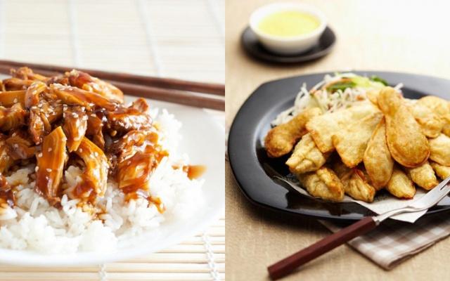 Chicken teriyaki a taštičky gunmandu