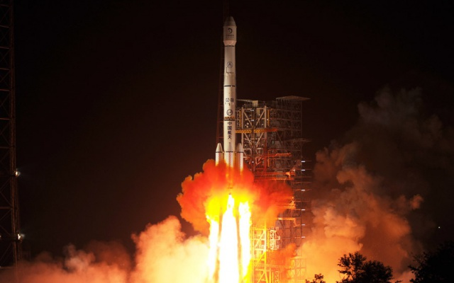 Start rakety Changzheng 3