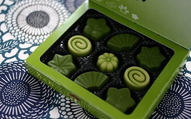 Čokoláda se zeleným čajem