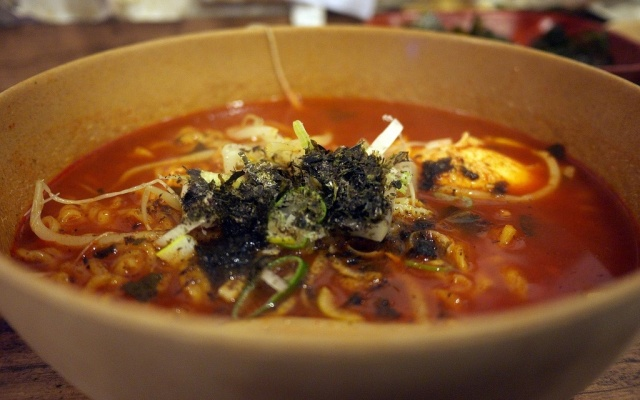 Teumsae Ramyeon přímo z restaurace