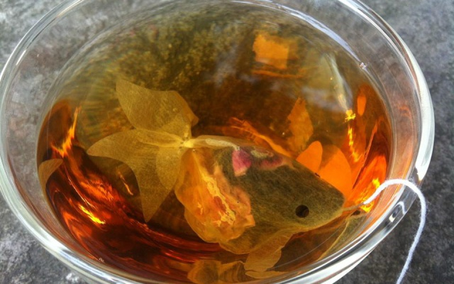 Charmvilla Goldfish Tea Bag