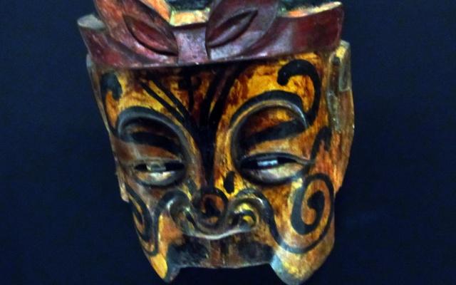 Maska čínské opery Nuo
