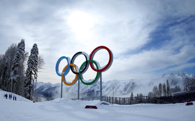 Olympijské kruhy v Soči