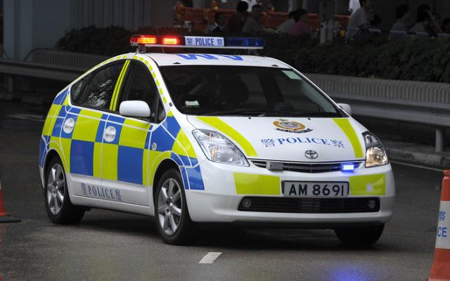 Vůz hongkongské policie