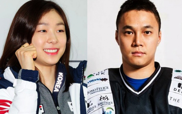 Štastný pár Kim Yuna a Kim Won Joong