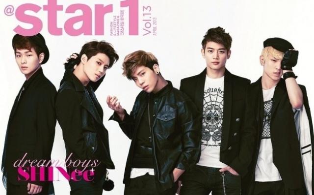 Onew, Tae Min, Jong Hyun, Min Ho, Key