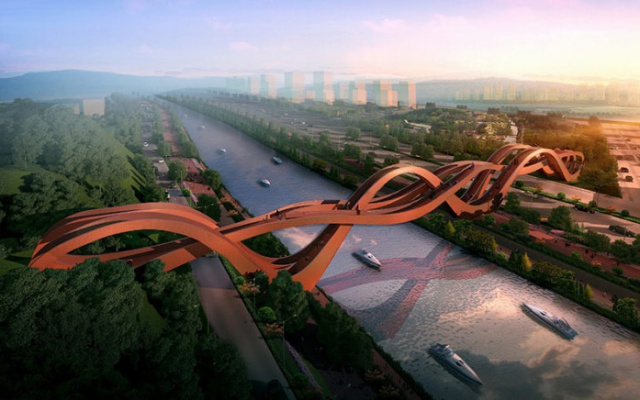 Návrh mostu v Changsha