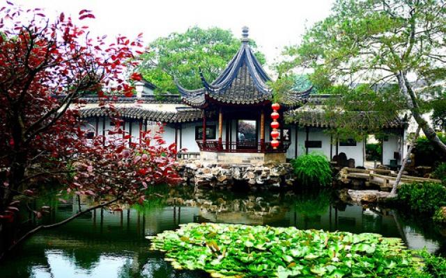 Zahrada v Suzhou