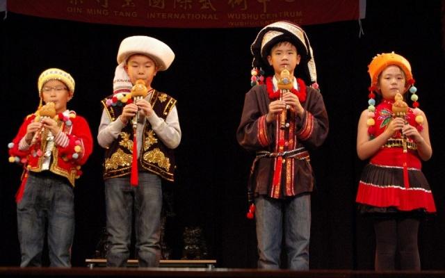 Děti z Čínské mezinárodní školy v Praze