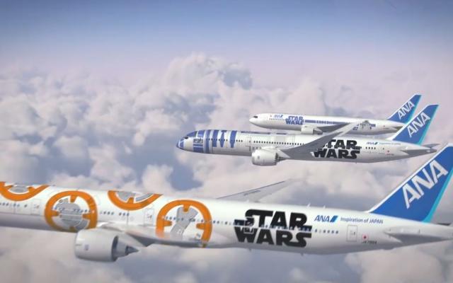 Trojice nových motivů letadel ANA
