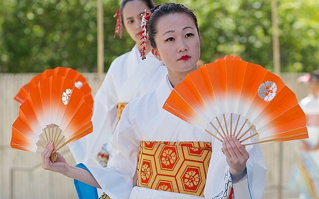 ilustrační foto: japonský tanec