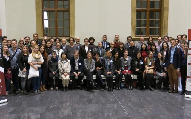 Přednášející a účastníci konference