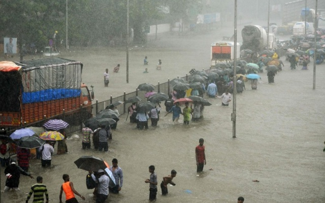 Povodně v Bombaji