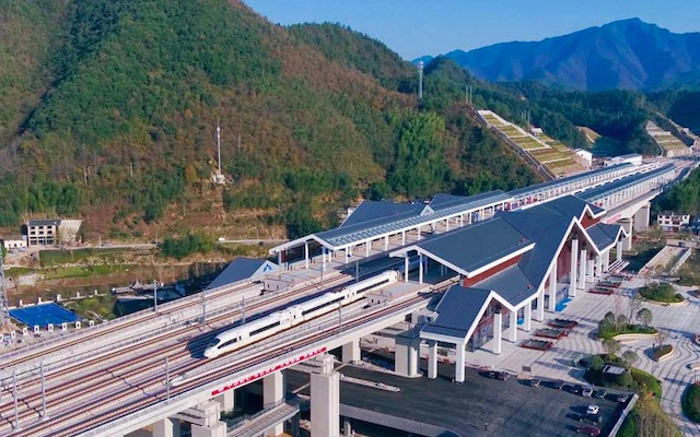 Nová železniční linka