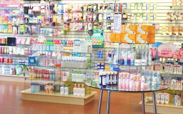 japonský beauty shop