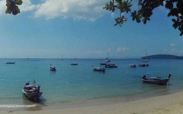 Thajsko - pláž Ao Nang