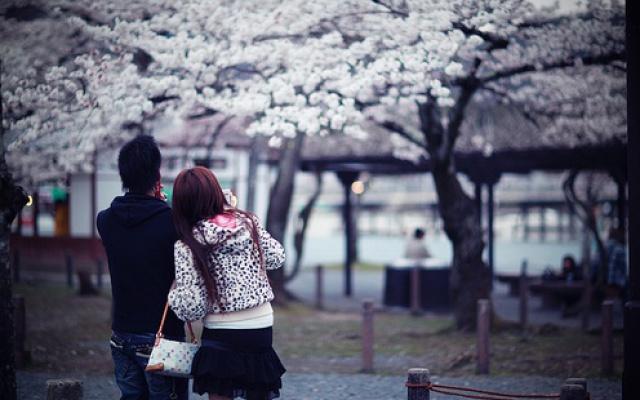 Pár v Japonsku