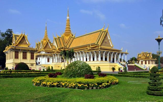 Sídlo kambodžského krále