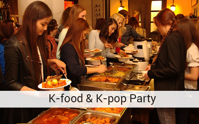 K-food & K-pop Party