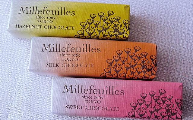 3 příchutě Millefeuilles od Berne