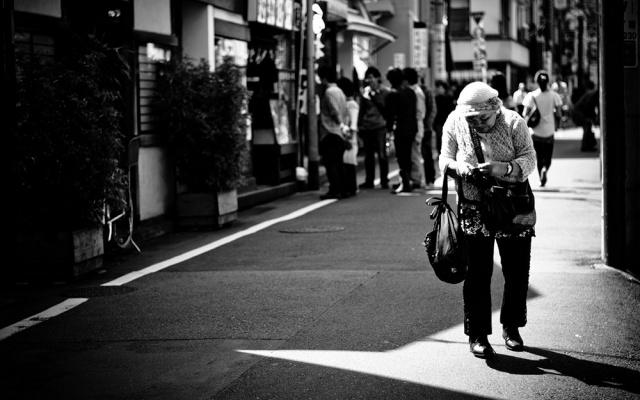 Samota nutí japonské seniory konat nešťastné skutky