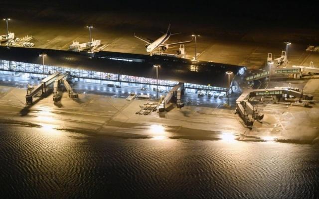 Letiště Kansai v prefektuře Osaka